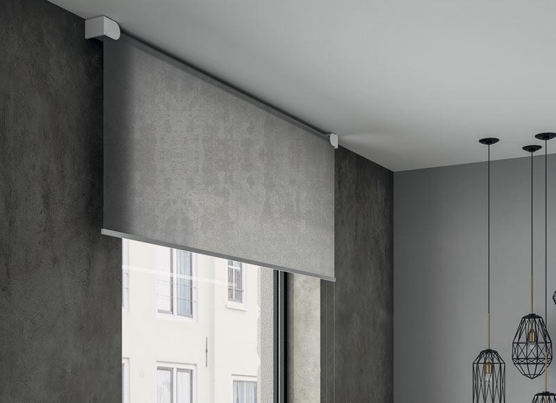 Round-bracket-contemporary-roller-blind-design