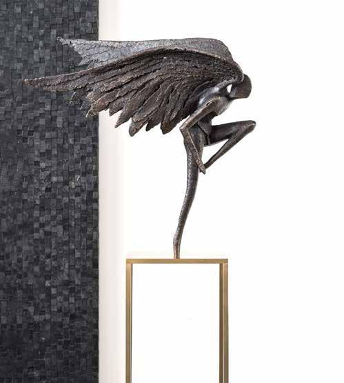 Angel-contemporary-scuplture-bronze-gardeco