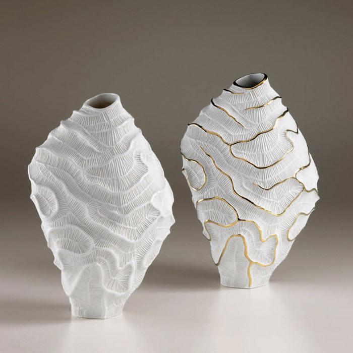 Ceramic-vases-unusual-shape-decorative