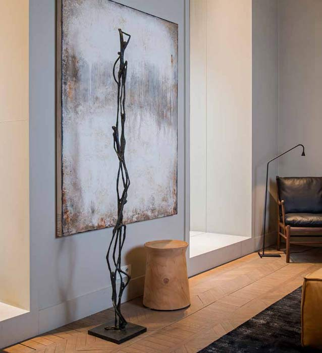 Contemporary-floor-standing-sculpture-for-hall