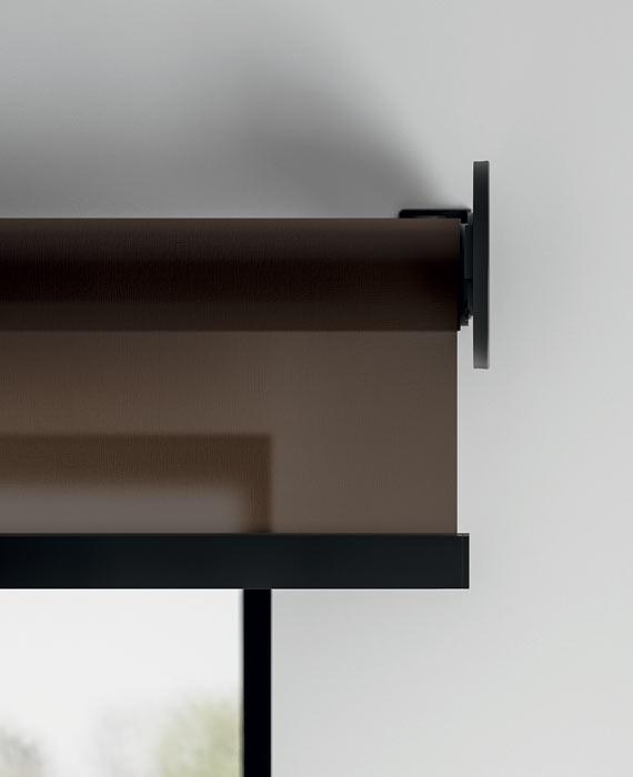 Black-bracket-and-bar-contemporary-blind