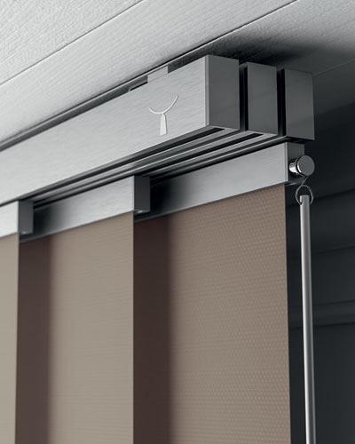 Designer vertical blind system