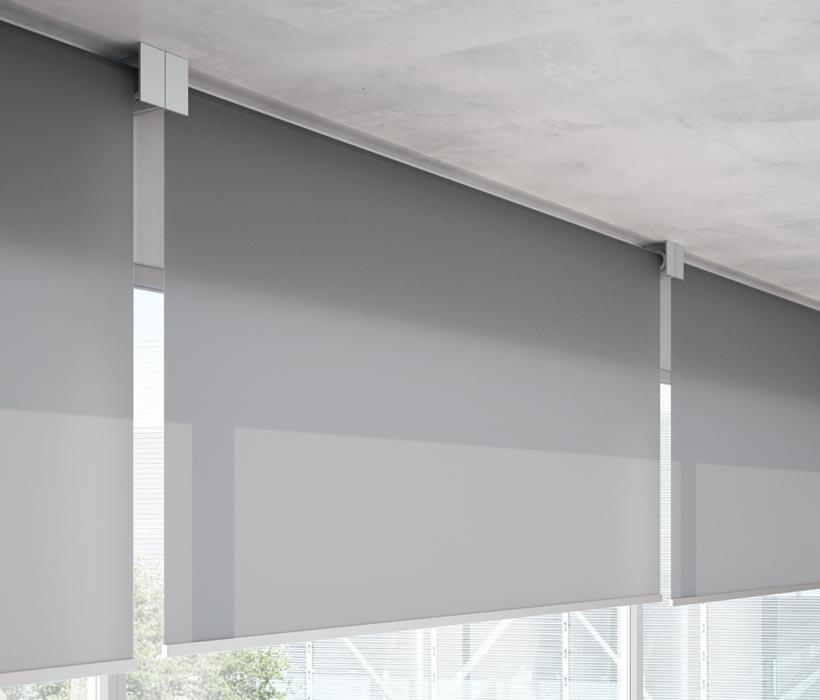 Multiple-blinds-patio-doors