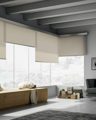 overlapping blinds for large windows